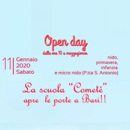 Cometé open day