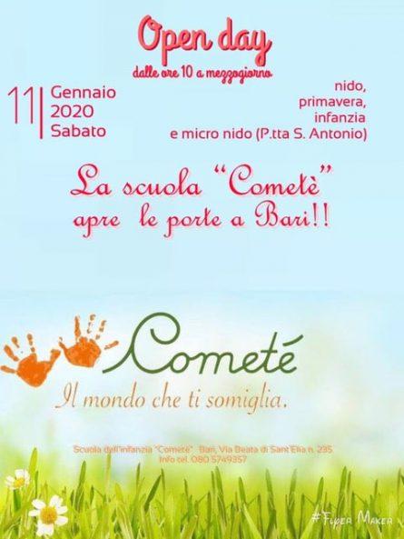 Cometé open day